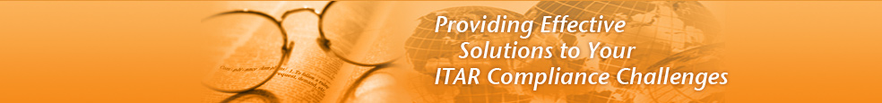 Providing Effective Solutions to Your ITAR Comnpliance Challenges