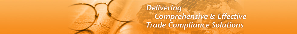 Delivering Comprehensive & Effective Trade Compliance Solutions
